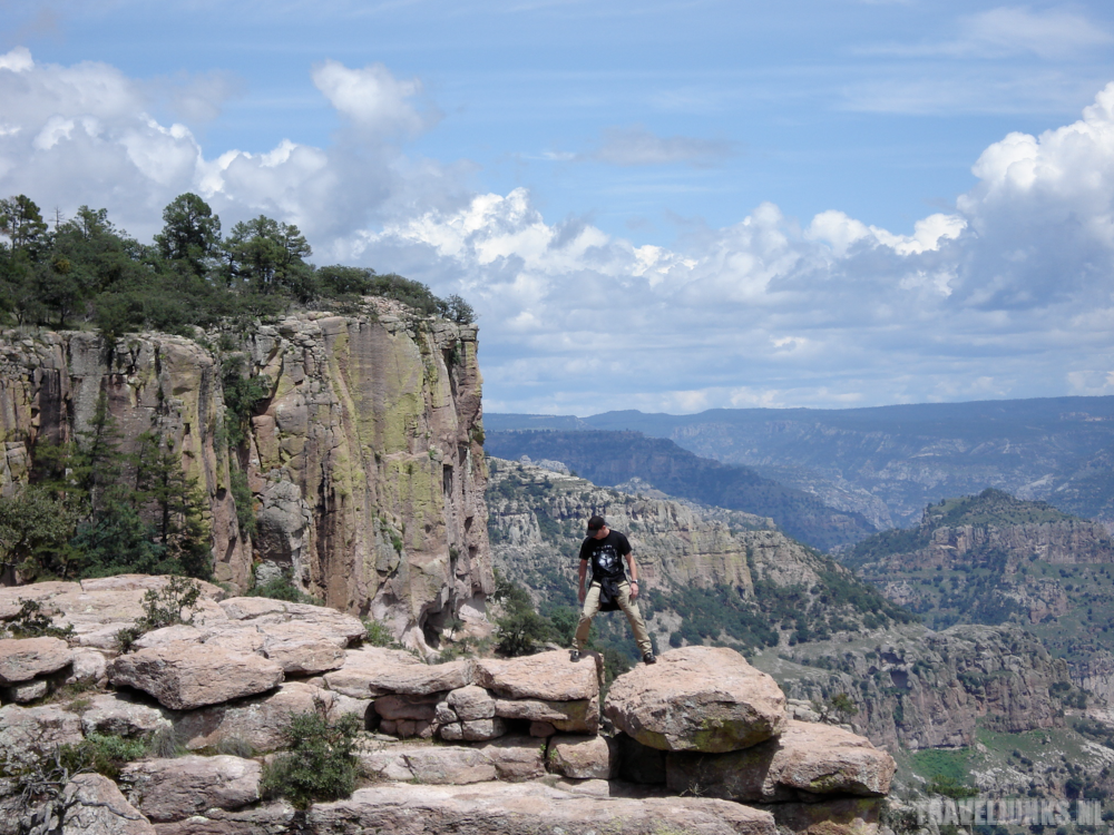 Copper Canyon dancing stone
