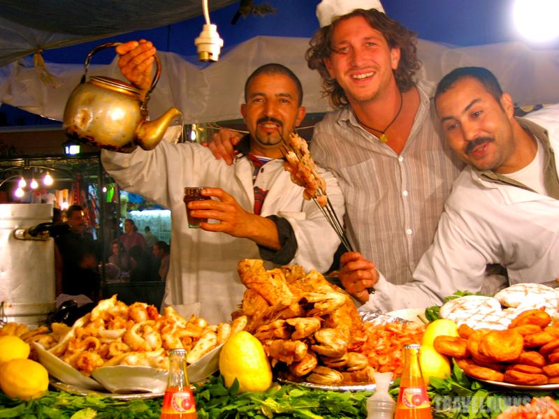Eetkraampje Marokko