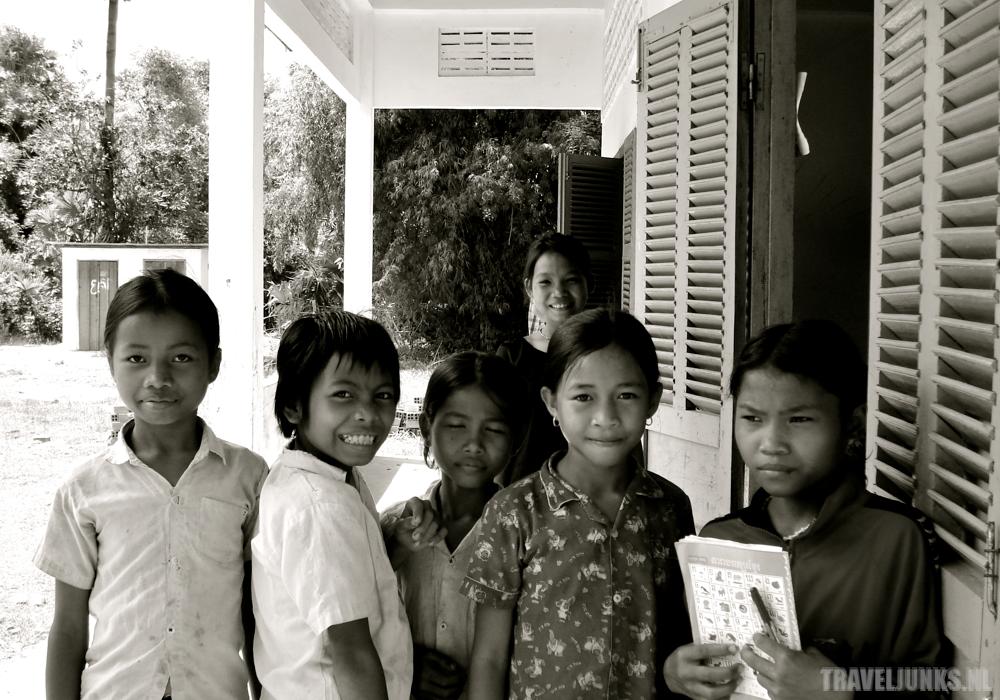 Cambodja Leerlingen Chhuk