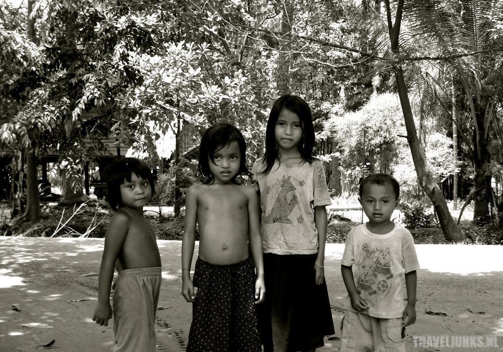 Cambodja Platteland Kinderen