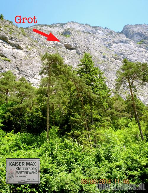 Kaiser Max grot aanduiding