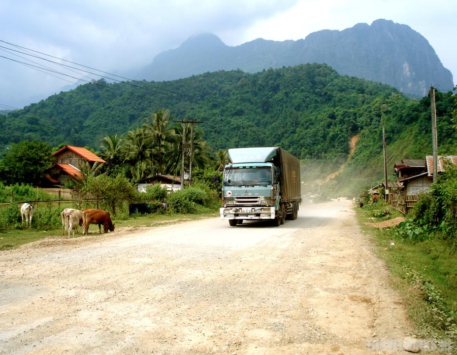 Vang Vieng Truck
