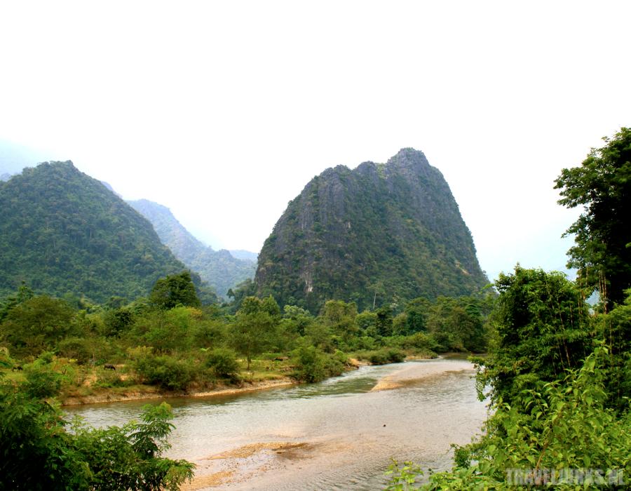 Vang Vieng rivier