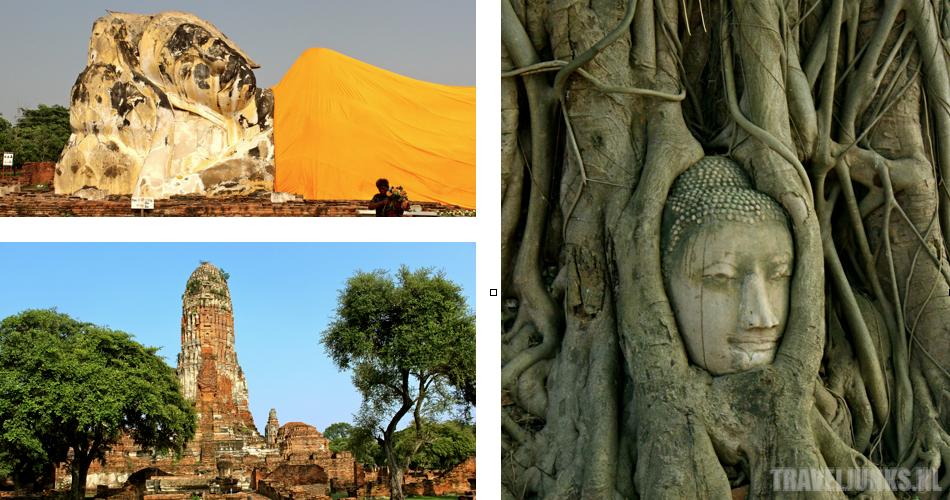 Ayutthaya postkaart 01