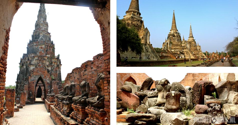Ayutthaya postkaart 02