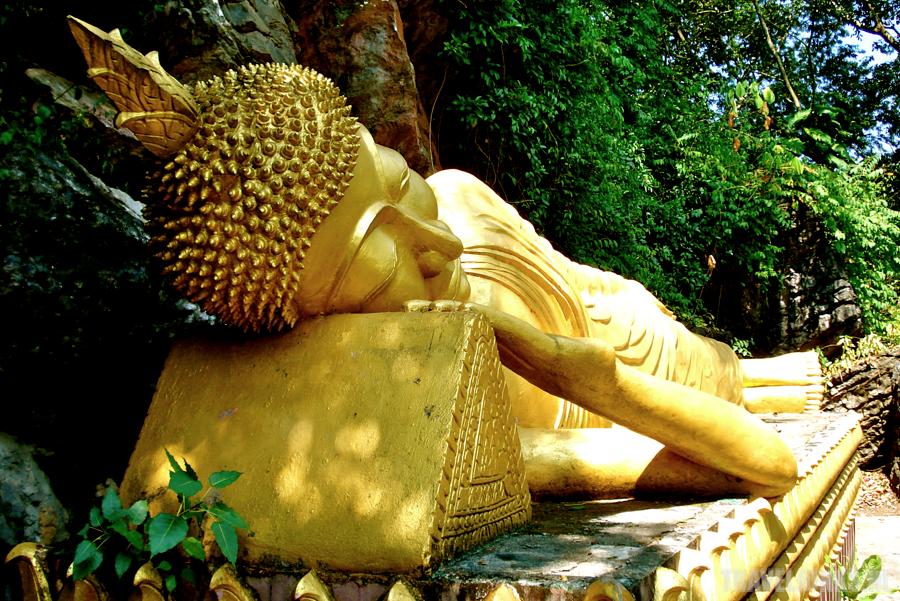 Luang Prabang Phu Si Sleeping Buddha