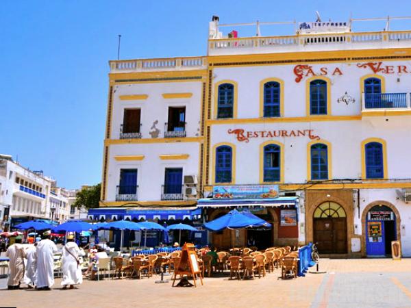 Marokko Essaouira terras