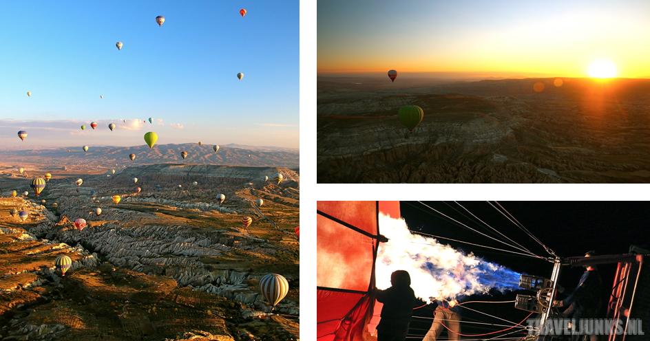 Turkije postkaart cappadocie