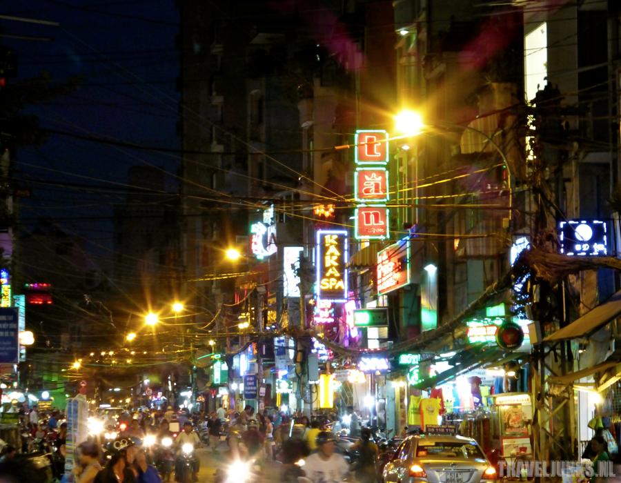 Ho Chi Minh  Bui Vien straat