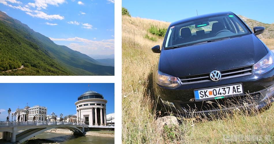 Macedonie roadtrip