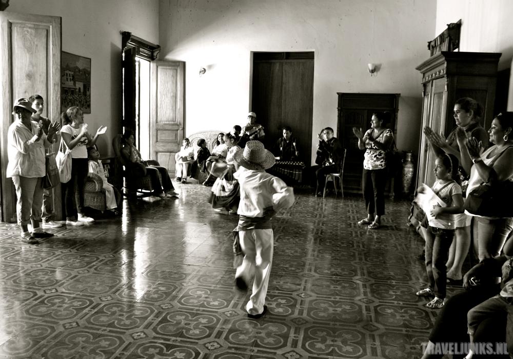 Nicaragua dansende kinderen