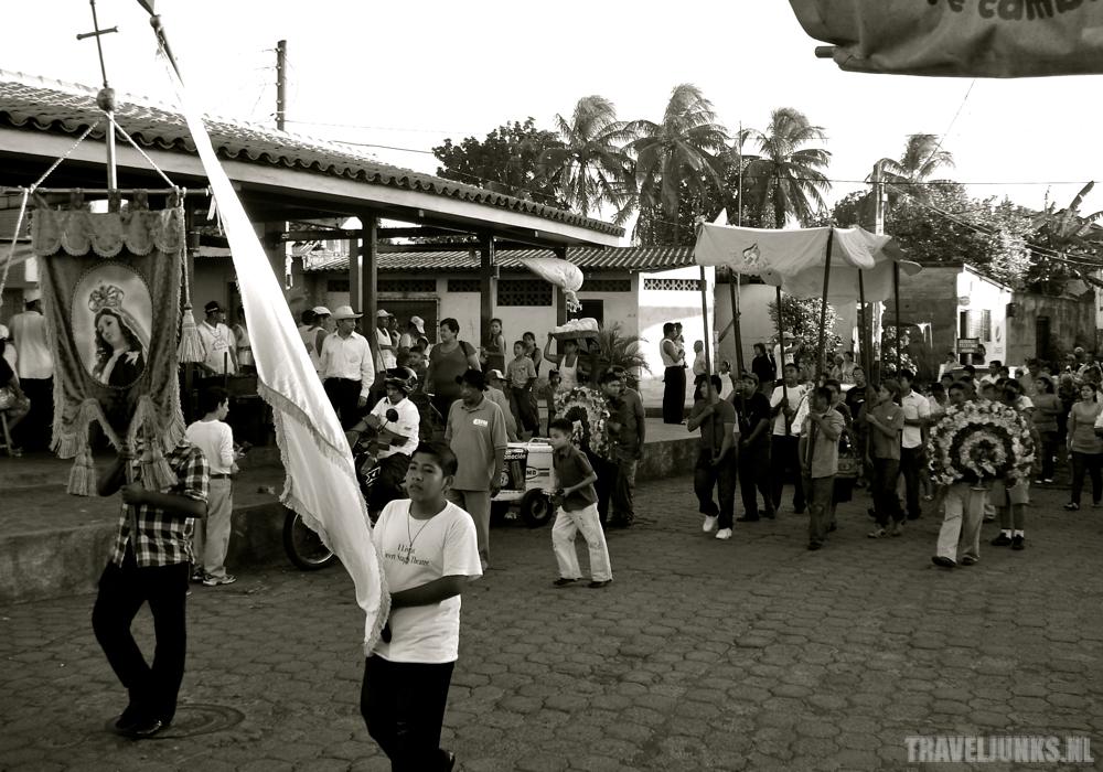 Nicaragua processie