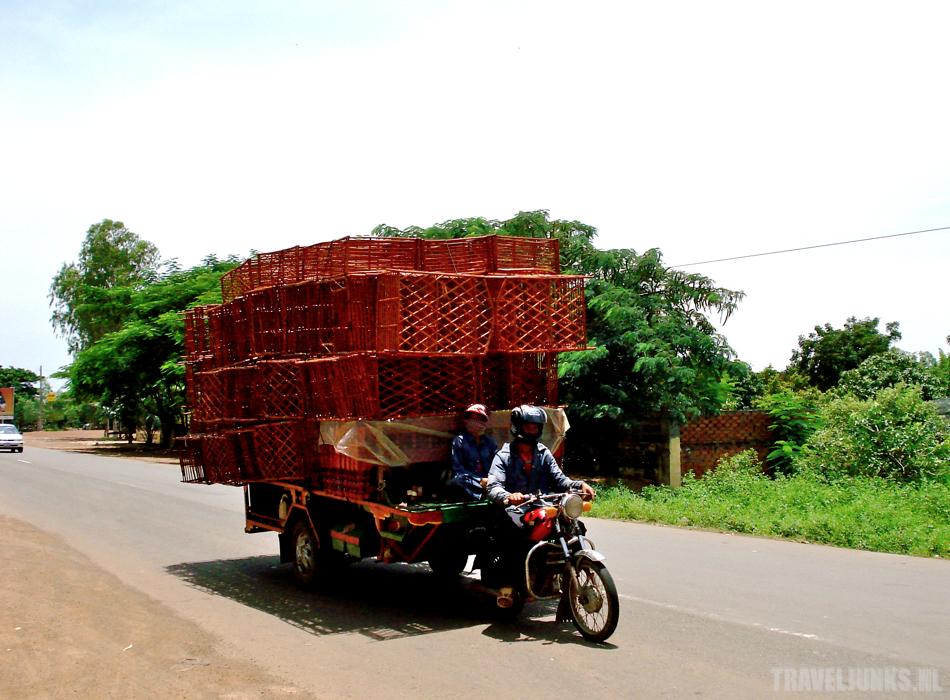 Cambodja moto transport