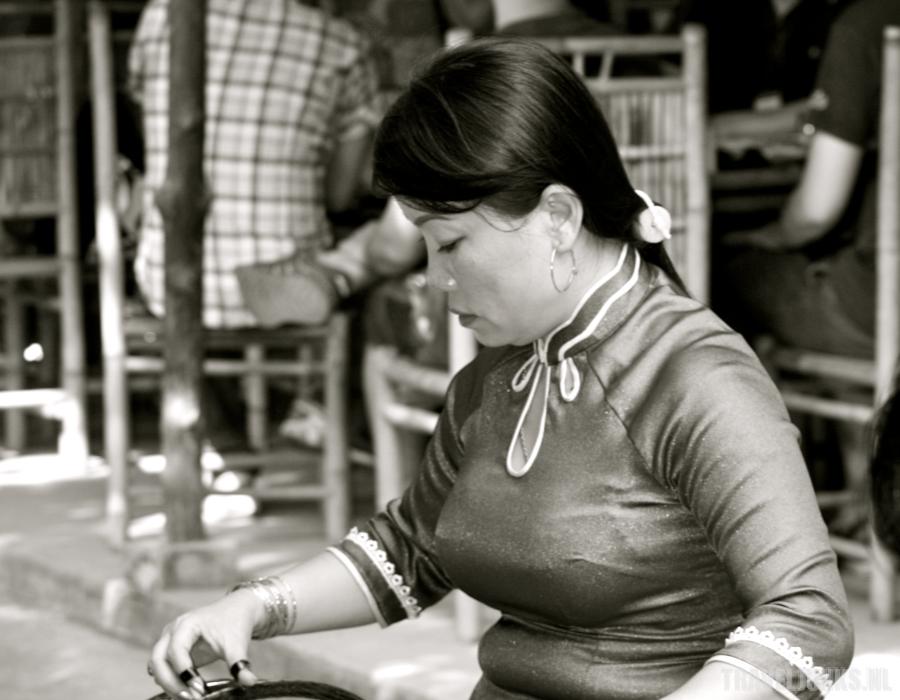 Vietnam muziekante mekong delta