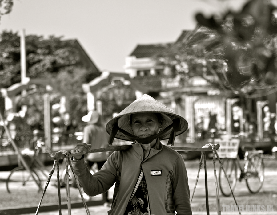 Vietnam verkoopster