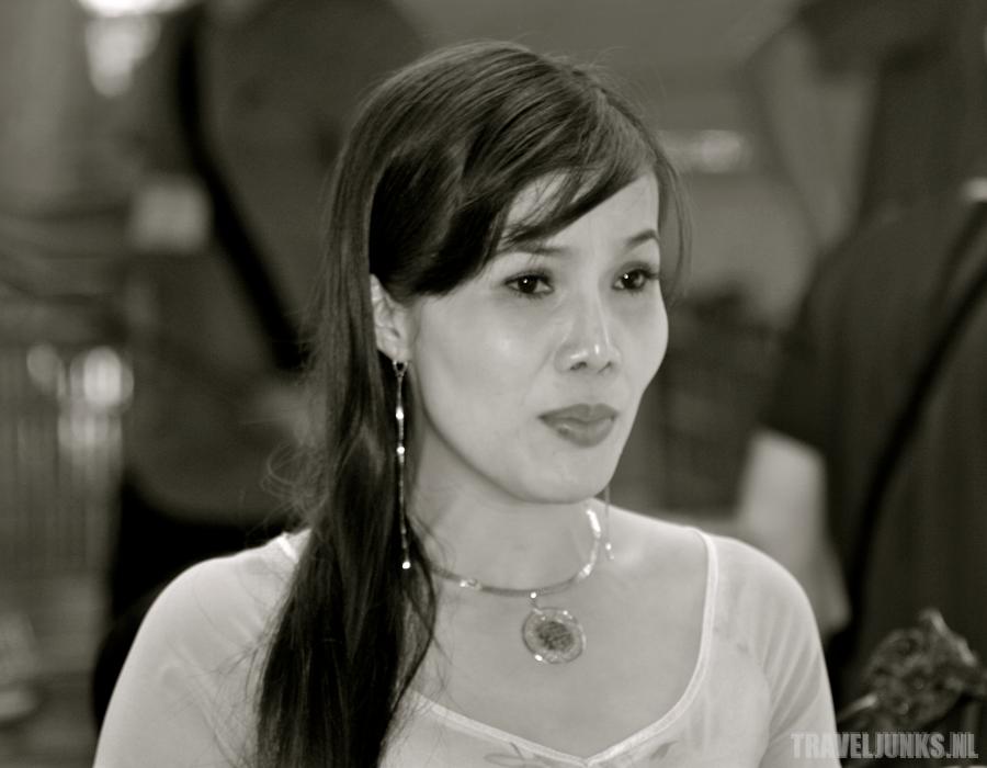 Vietnam zangeres mekong delta