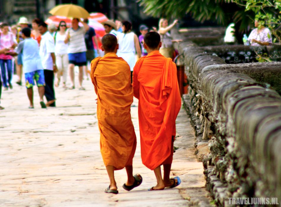 Angkor-monniken