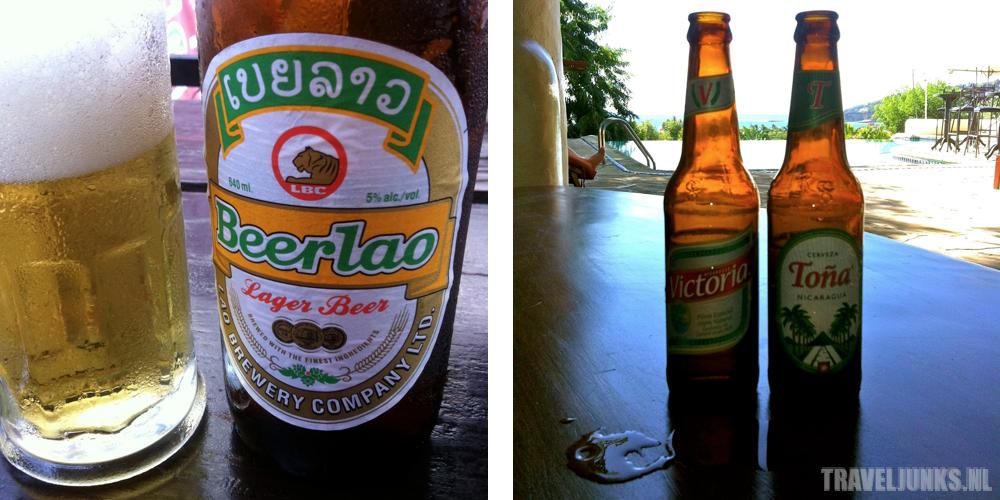 Azie vs Amerika bier