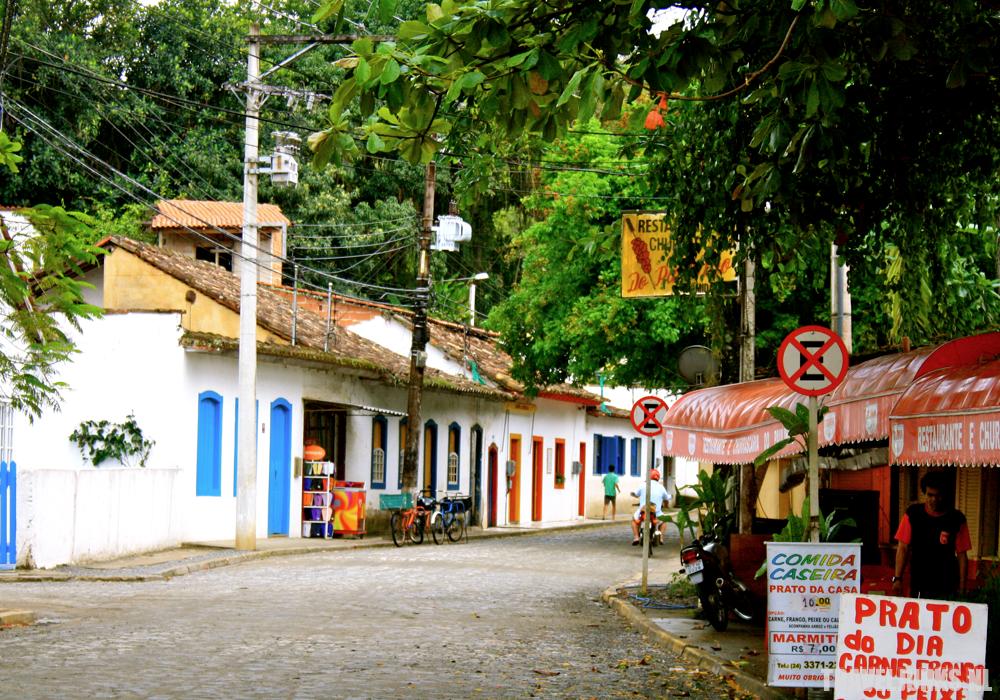 Paraty straat