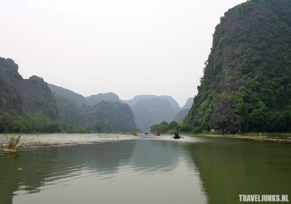 Tam Coc rivier