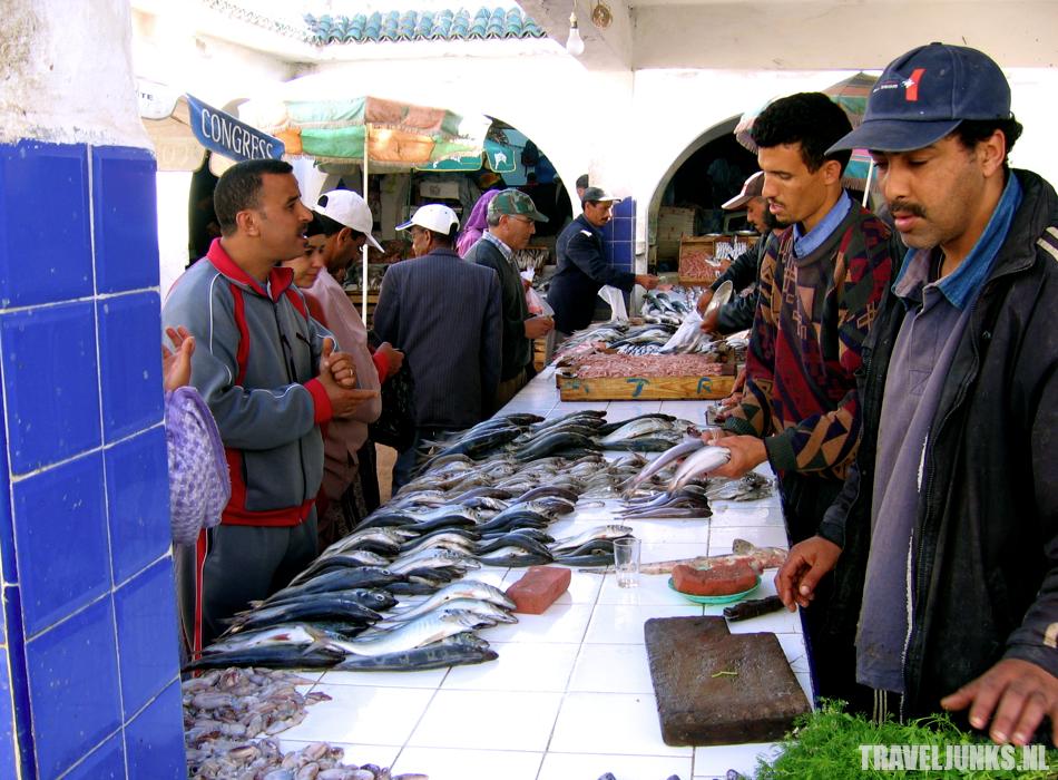Marokko vismarkt