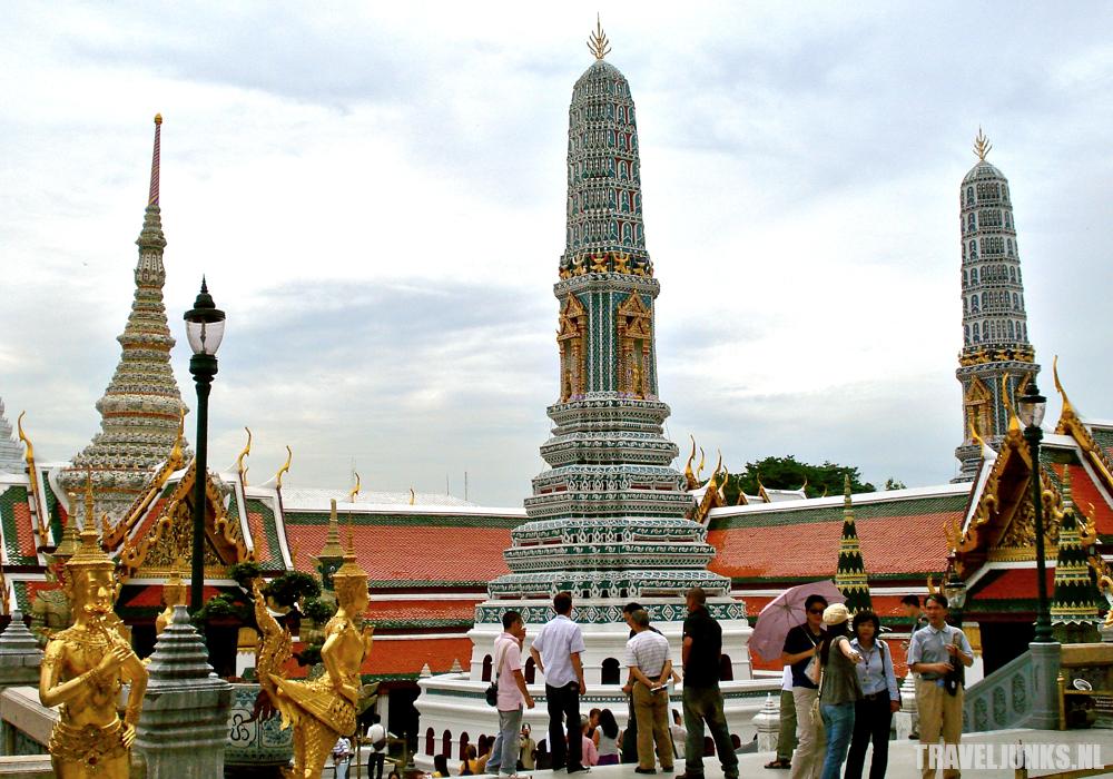 Bangkok paleis pagodes