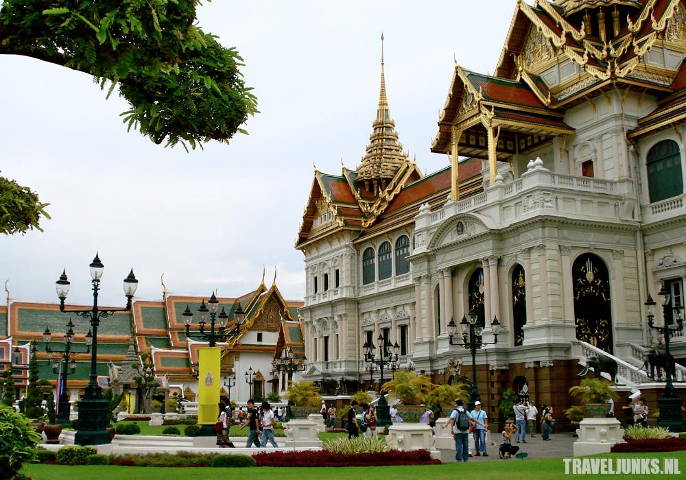 Bangkok paleis tuin