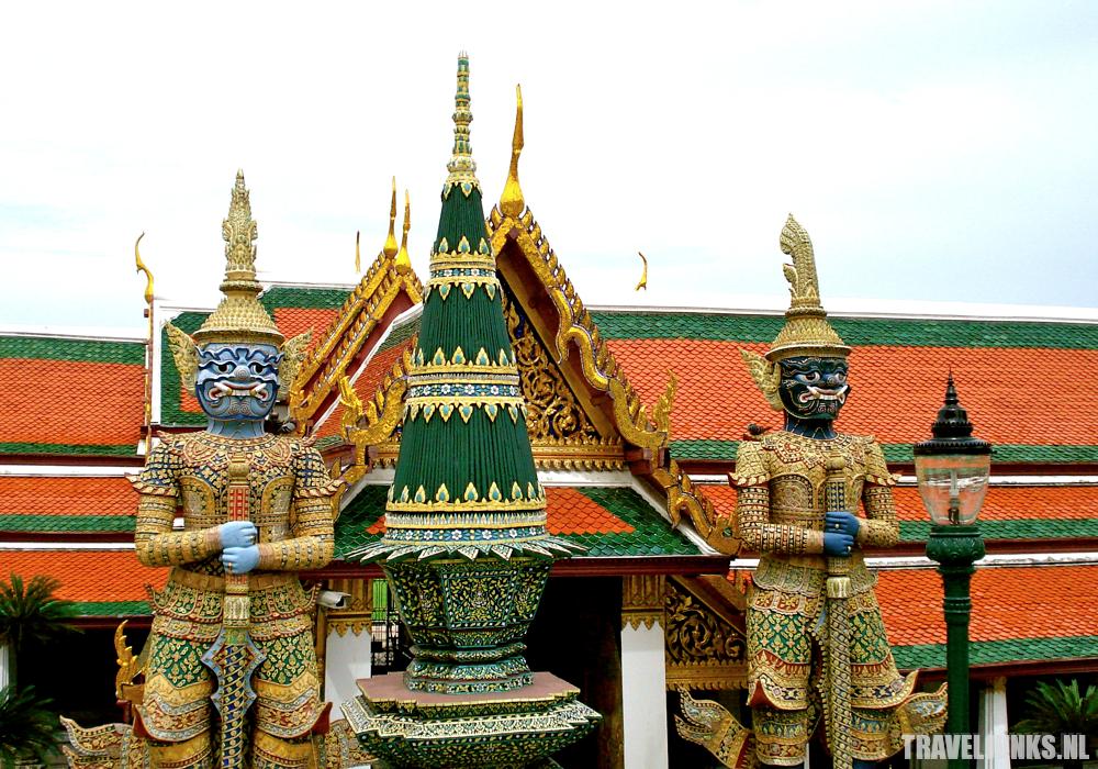Bangkok paleis wachters