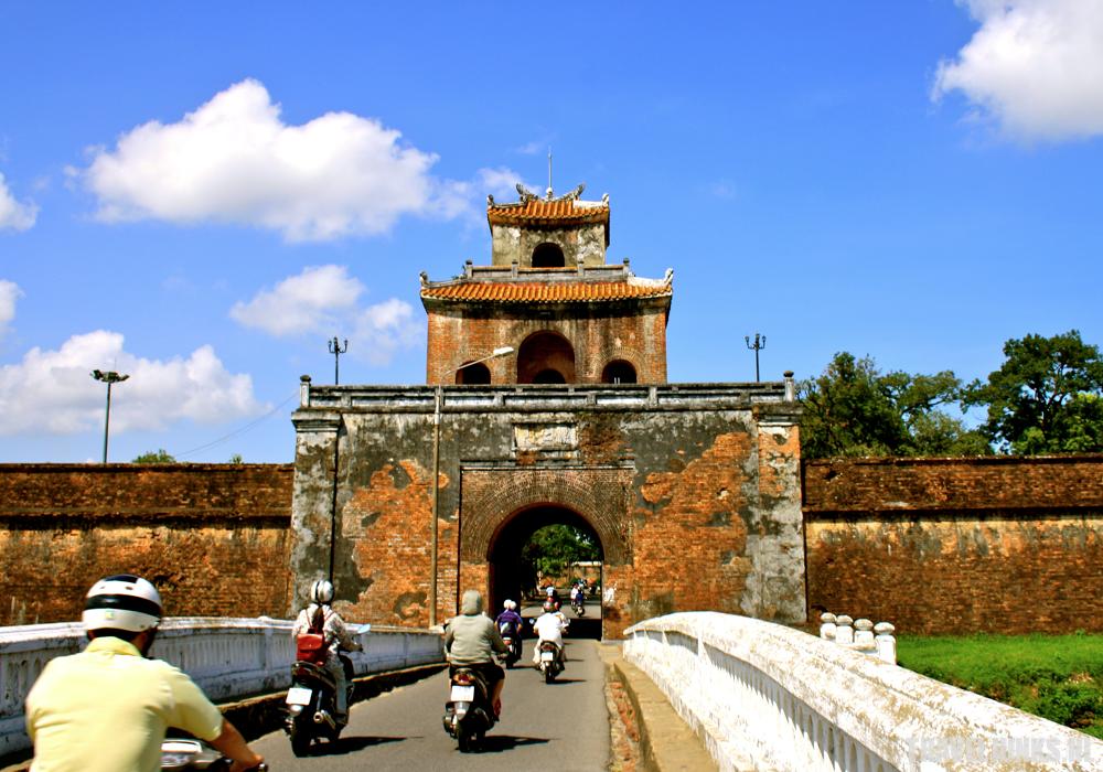 Hue Vietnam ingang