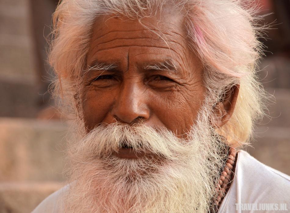 Varanasi old man