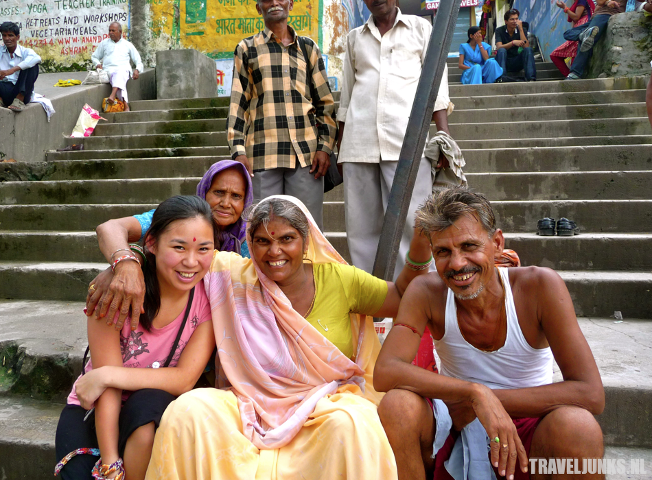 bunch of backpackers India