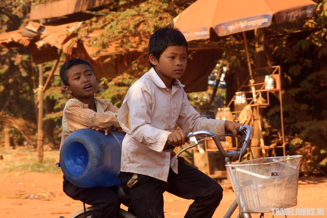 Cambodja fietsen