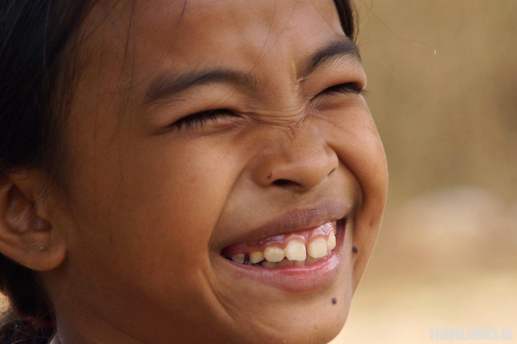 Cambodja lachen