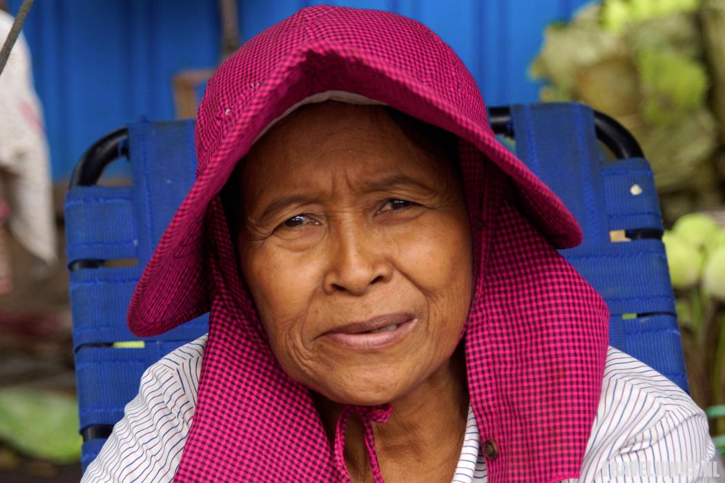 Cambodja oma hoed