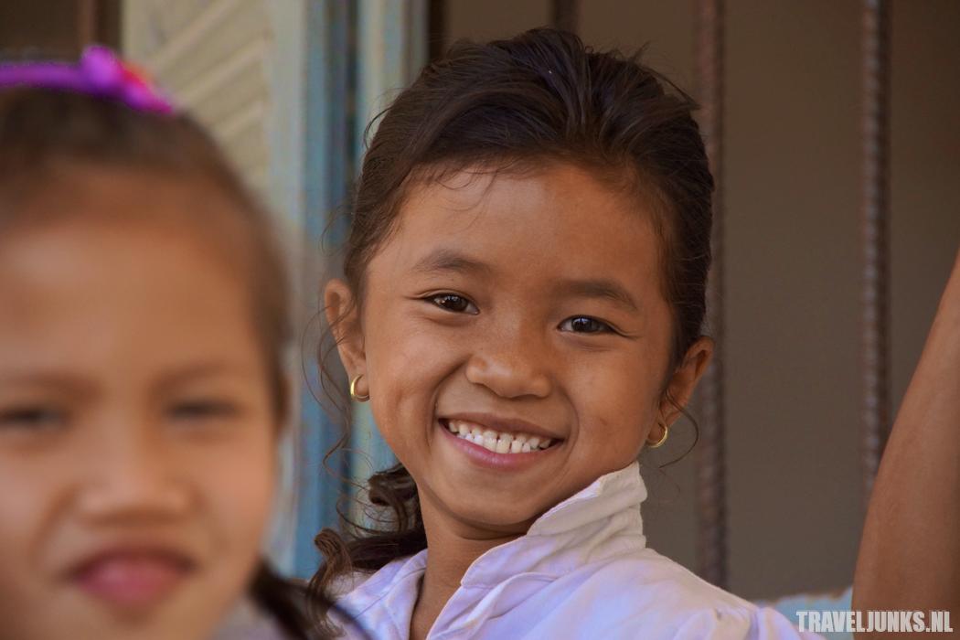 Bevolking van Cambodja scholiere