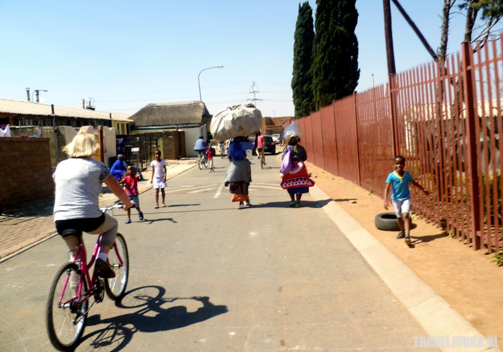 Zuid-Afrika fietsen Soweto