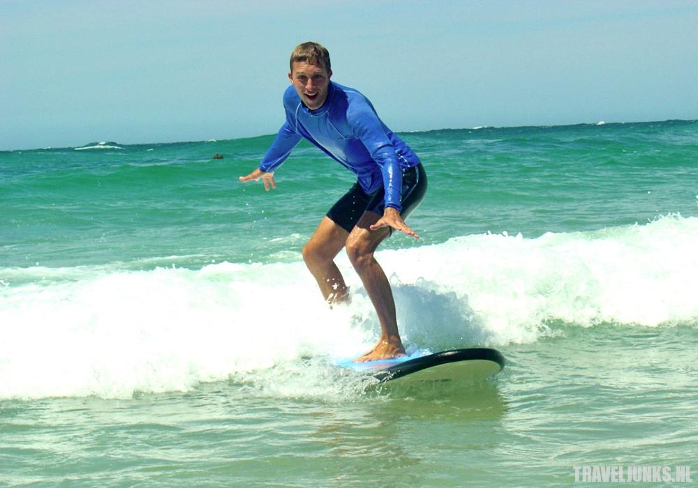 Zuid-Afrika surfen