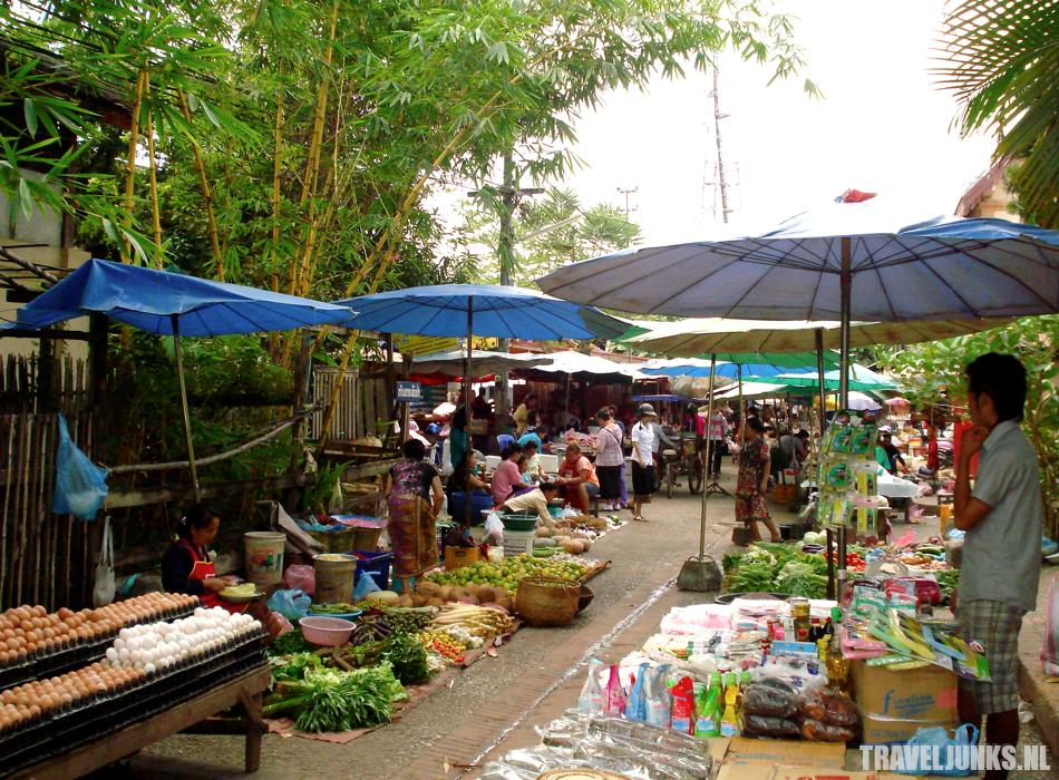 Markt Luang Prabang
