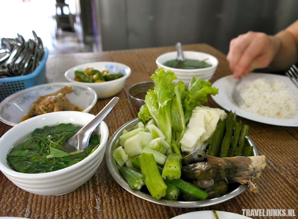 Myanmar eten