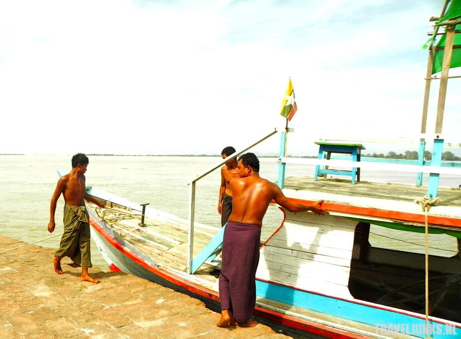 Myanmar rivier