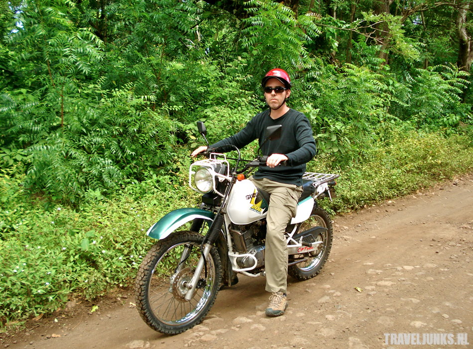 Ometepe biker