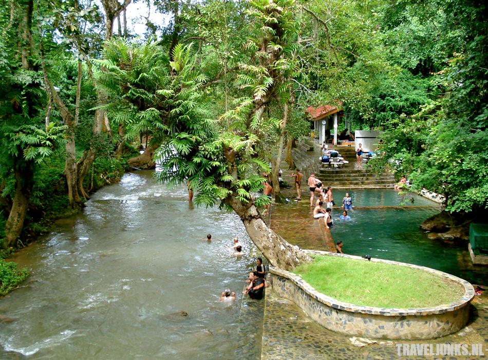 Kanchanaburi hot springs