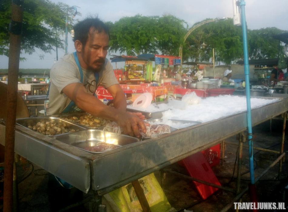 Krabi Town Vis markt