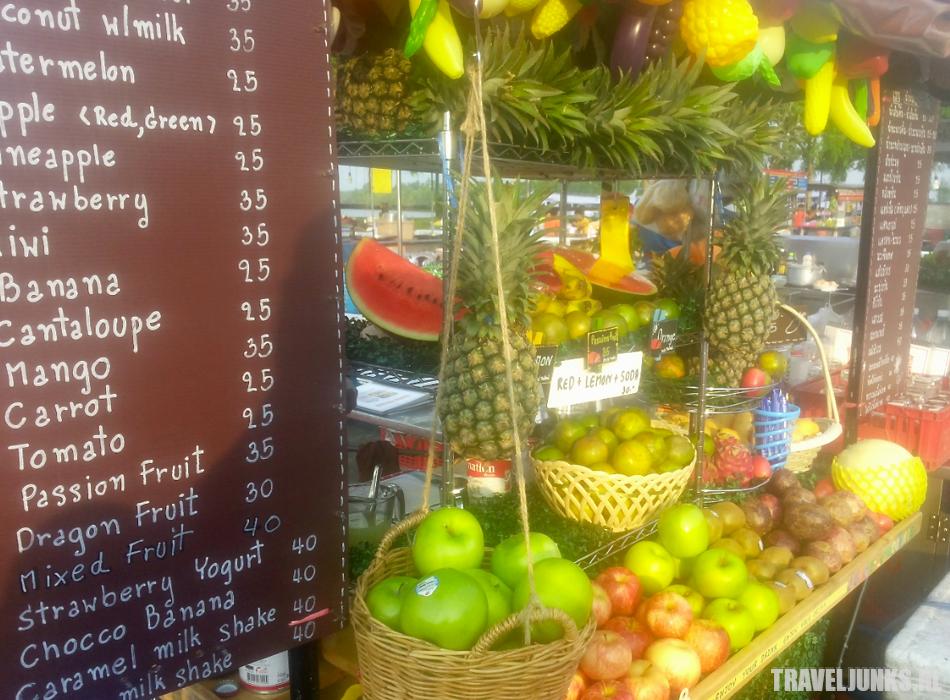 Krabi Town food stall