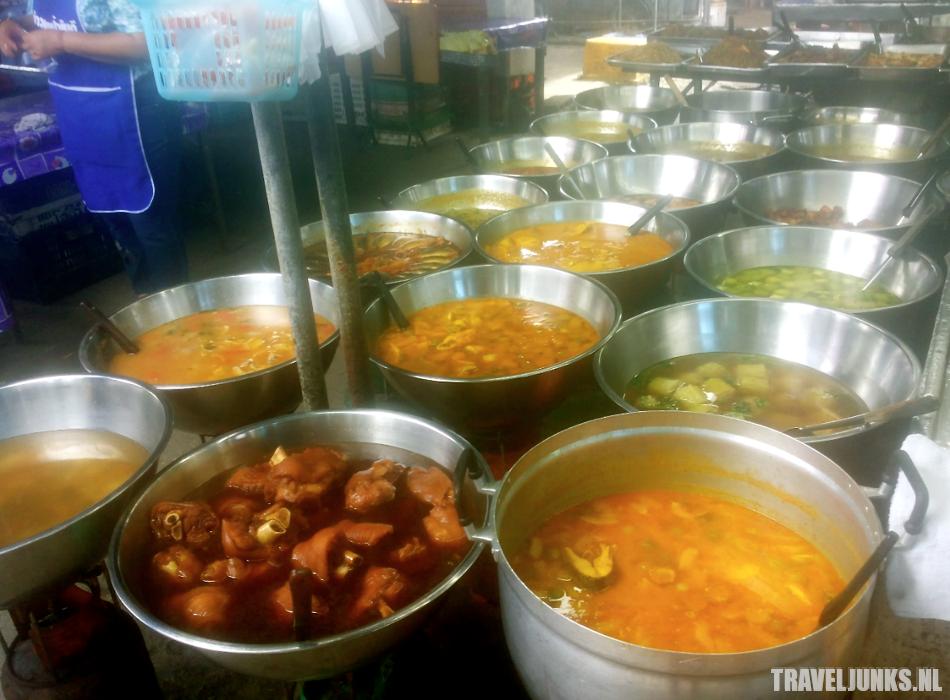 Krabi Town street food