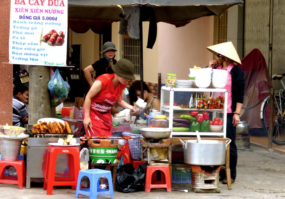 Dalat foodstall