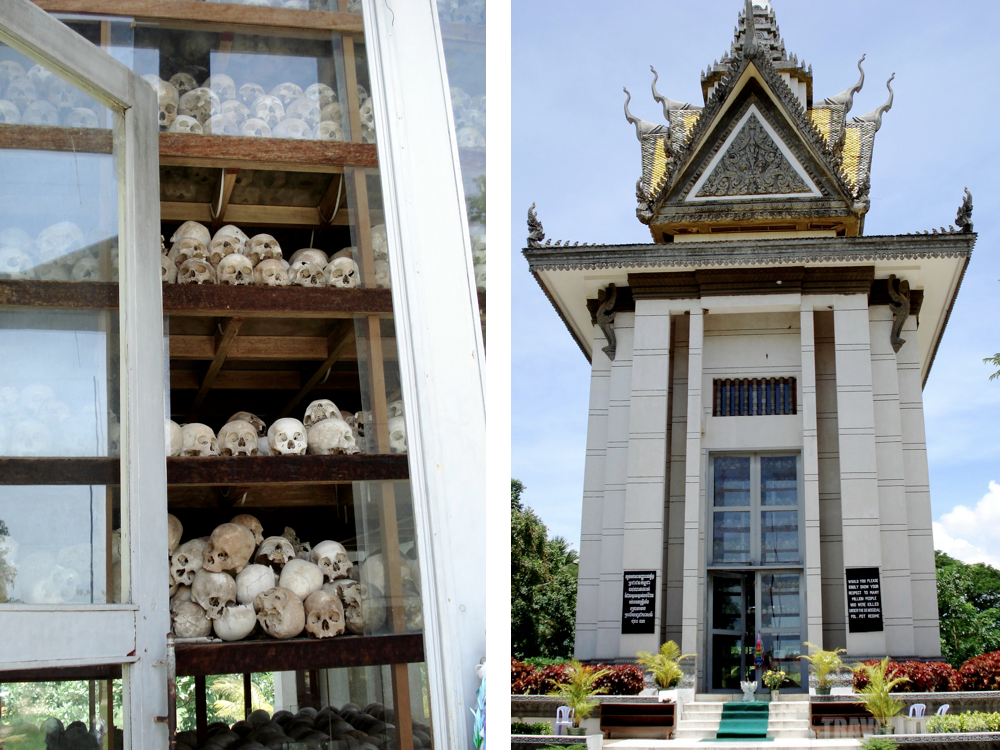 Killing Fields Stupa