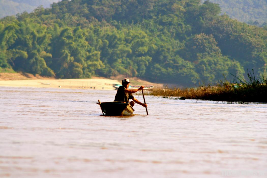 Reisfoto Mekong