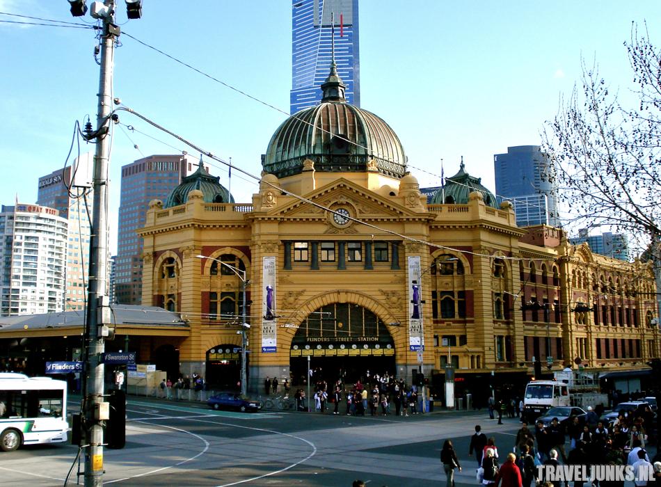 australie flinders station