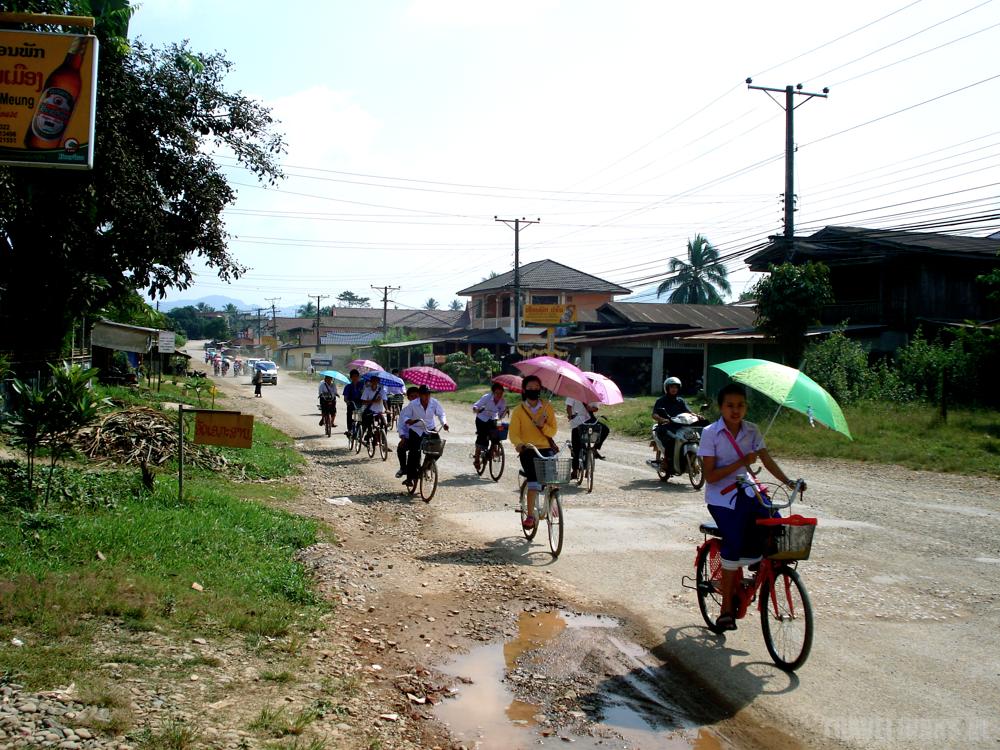 Laos Vang Vieng bikes